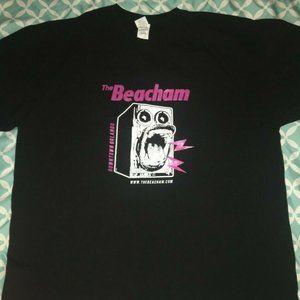 The Beacham Downtown Orlando XL Black Tshirt Devo